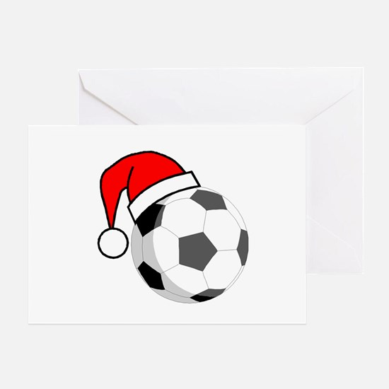 Soccer Greetings Greeting Card