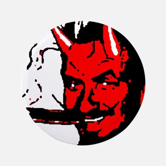 """Big Daddy roth Devil Man on 3.5"""" Button"""