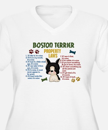 Boston Terrier Property Laws 4 T-Shirt