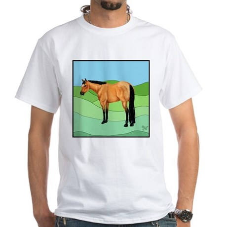 Quarter Horse White T-Shirt