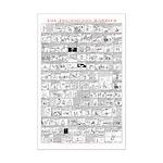 THE TECHNICIAN RABBITS Mini Poster Print
