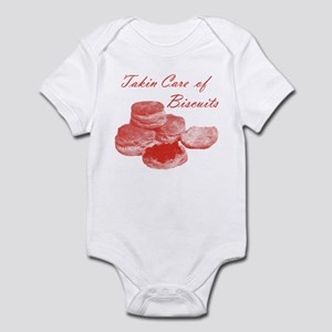 Takin Care of Biscuits Infant Bodysuit