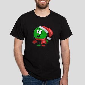 Bowling Ball Christmas Dark T-Shirt