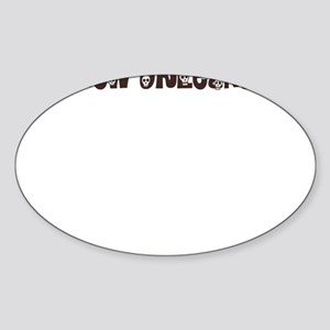 New orleans 2 Oval Sticker