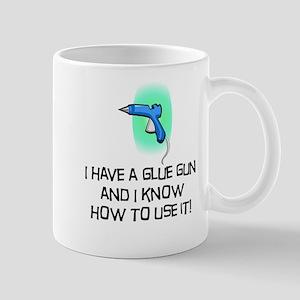glue gun Mug