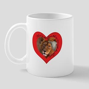 Twilight Lion Loves Lamb Mug