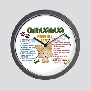 Chihuahua Property Laws 4 Wall Clock