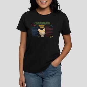 Chihuahua Property Laws 4 Women's Dark T-Shirt