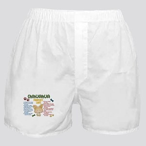 Chihuahua Property Laws 4 Boxer Shorts