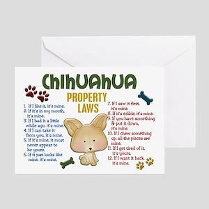 Chihuahua Property Laws 4 Greeting Card