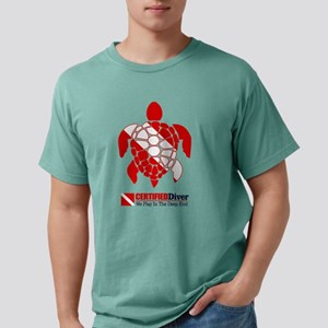 Turtle Dive Flag T-Shirt