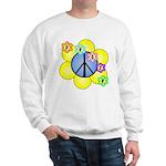 Peace Blossoms /blue Sweatshirt