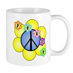 Peace Blossoms /blue Mug