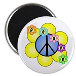 Peace Blossoms /blue Magnet