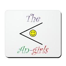 The Acute An-Girls Mousepad