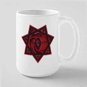 Rosy Cross Large Mug