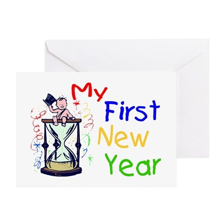 My First New Year Greeting Card