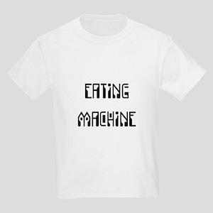 Eating Machine Black Kids Light T-Shirt