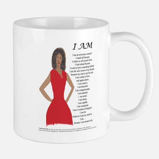 Unique Positive woman Mug