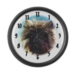Cairn Terrier clock