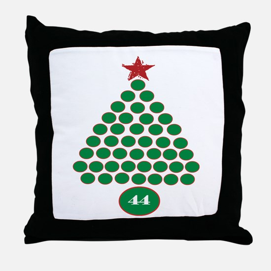 oddFrogg Obama Christmas Throw Pillow