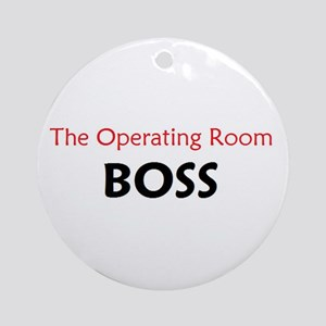 OR BOSS Ornament (Round)