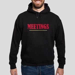 Meetings - Hoodie (dark)