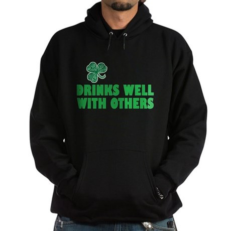 Drinks Well With Others - Hoodie (dark)