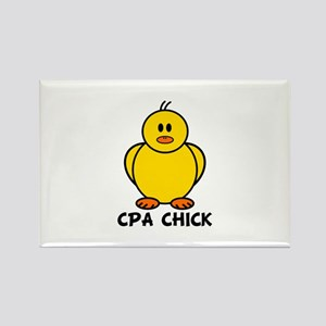 CPA Chick Rectangle Magnet