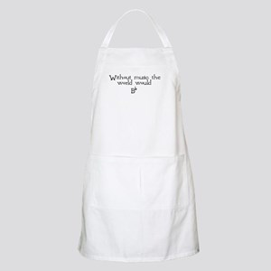 Without Music The World Would BBQ Apron