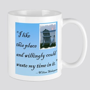 I like this place (2) Mug