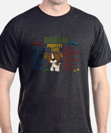 Beagle Property Laws 4 T-Shirt