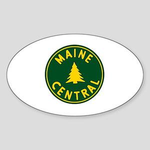 Main Central Railroad Sticker