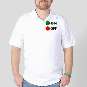 On Off Button Golf Shirt