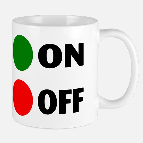 On Off Button Mug