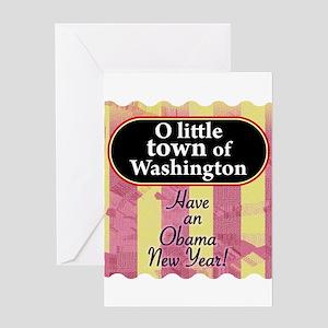 O little town of Washington Greeting Card
