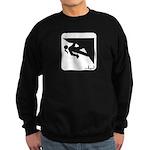 Climbing Girl Icon Sweatshirt (dark)