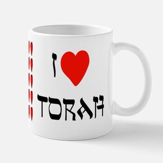 I Heart Torah Mug