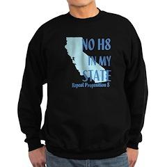 No H8 in My State Sweatshirt (dark)