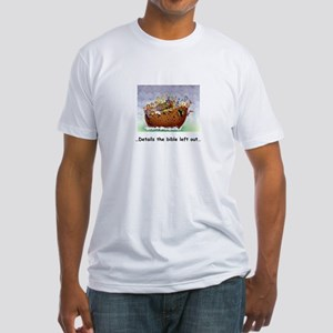 """""""Noah's Ark"""" Humor Fitted T-Shirt"""
