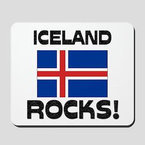 Iceland Rocks! Mousepad