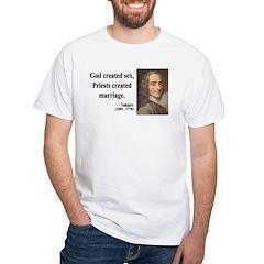 Voltaire 16 White T-Shirt