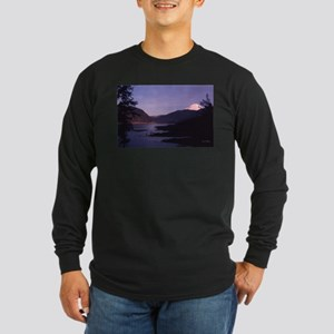 Mt. St. Helens, Washington Long Sleeve Dark T-Shir