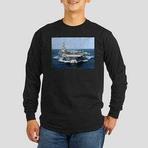 USS George Washington Long Sleeve Dark T-Shirt