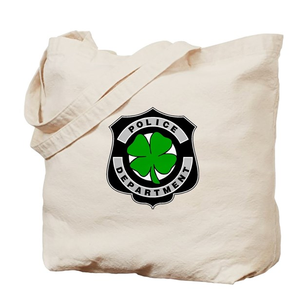 Irish Police: Irish Police Officers Tote Bag By Bonfiredesigns