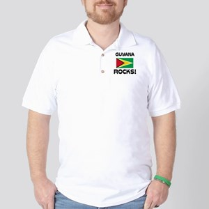 Guyana Rocks! Golf Shirt