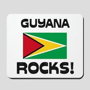 Guyana Rocks! Mousepad