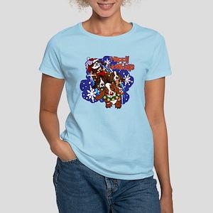 Santa Paws Women's Light T-Shirt