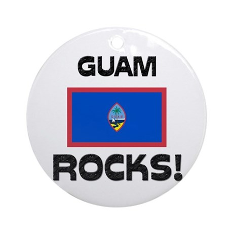 Guam Rocks! Ornament (Round)