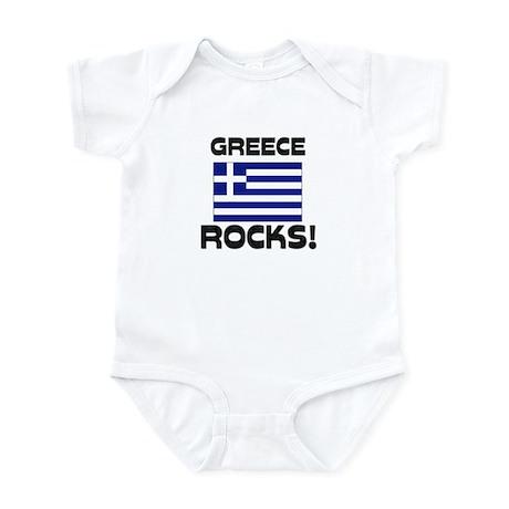 Greece Rocks! Infant Bodysuit